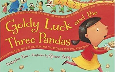 Book Review Goldy Luck and the Three Pandas by Natasha Yim